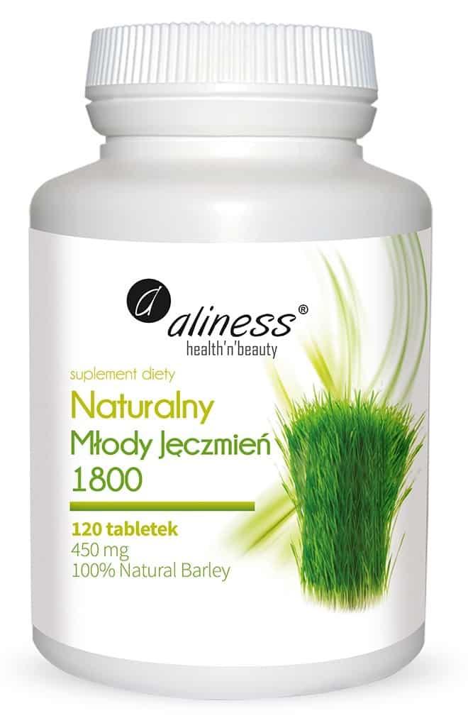mlody zielony jeczmien w tabletkach