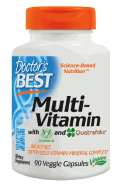 Details about Doctor's Best Multi-Vitamin - 90 Vegan Caps, SHIPPING  WORLDWIDE