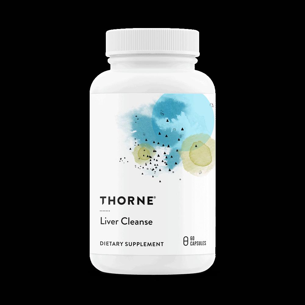 THORNE Liver Cleanse (Leber Detox) 60 Vege Kapseln, VERSAND WELTWEIT 2
