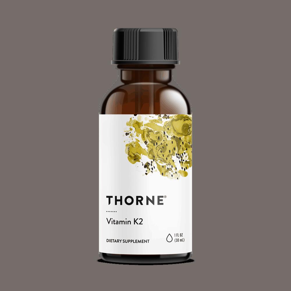 THORNE Vitamin K2 (MK-4 Flüssiges) 30ml, VERSAND WELTWEIT 2