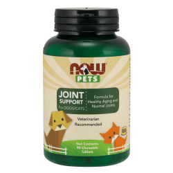 NOW FOODS PETS Joint Support - 90 tabletek do gryzienia