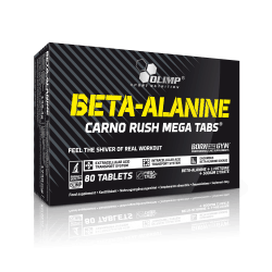 OLIMP BETA-ALANINE CARNO RUSH MEGA TABS 80 Tabletek